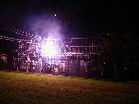 High Voltage Arcs and Sparks Page
