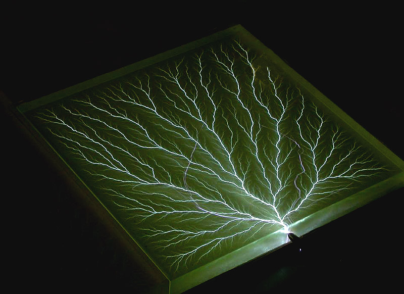 Captured Lightning Lichtenberg Figure Sculptures Gallery 1