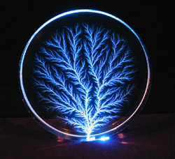 Blue LED Disk, Edge