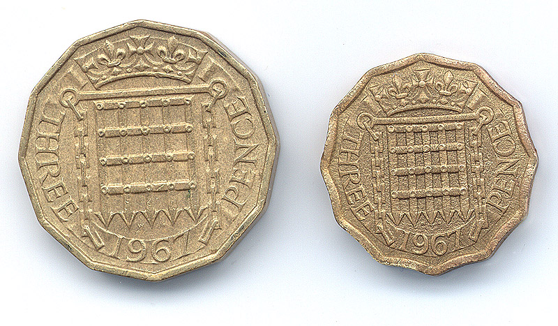 Stoneridge Engineering's Shrunken British Coins